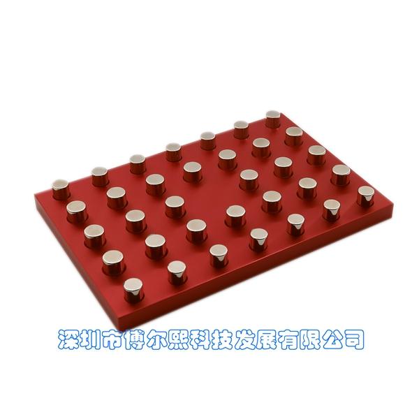 自动化仪器24孔深孔板磁力架