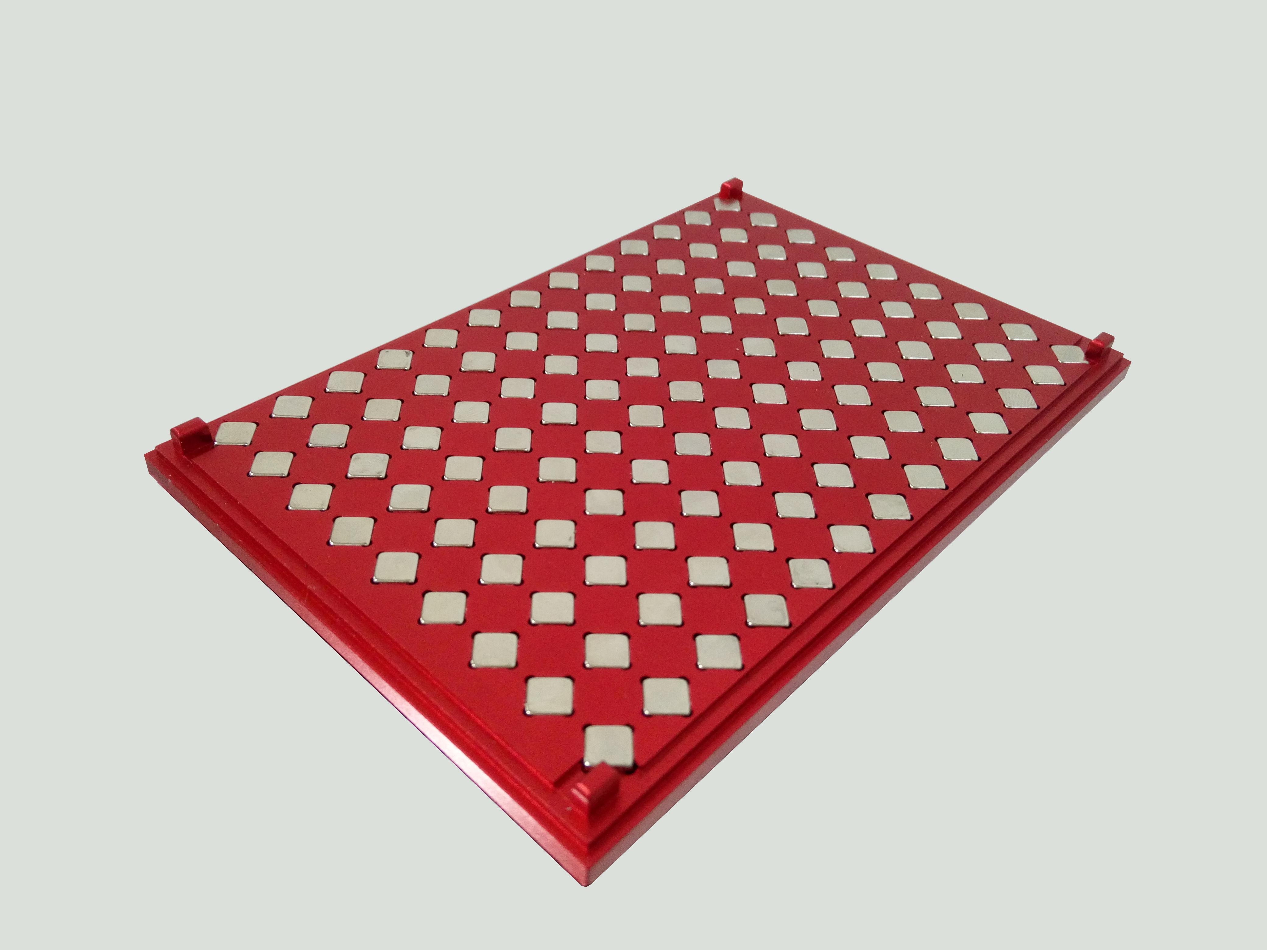 96孔酶标板(ELISA板)磁力架 铝合金款