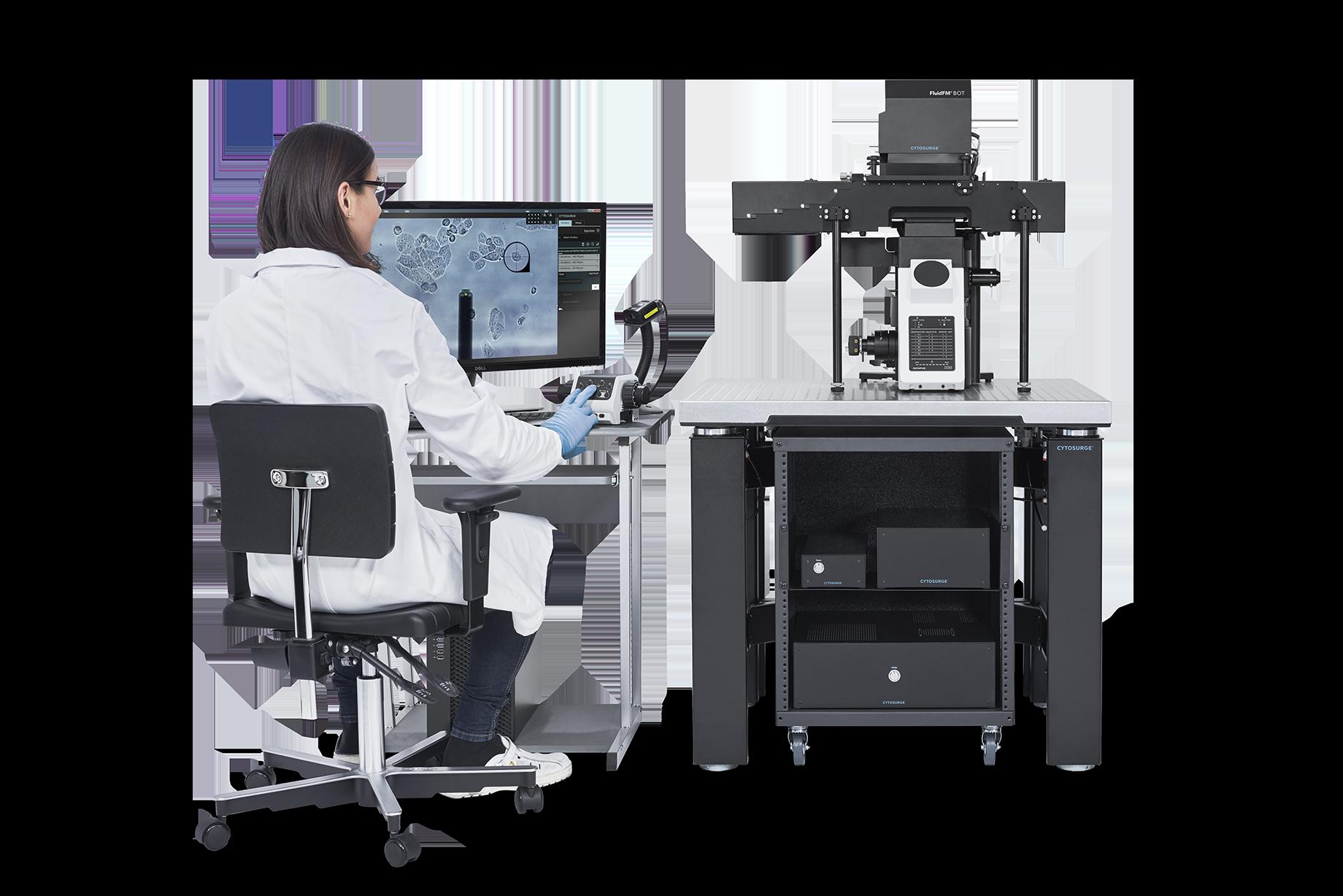 瑞士 Cytosurge 多功能单细胞显微操作系统 FluidFM BOT