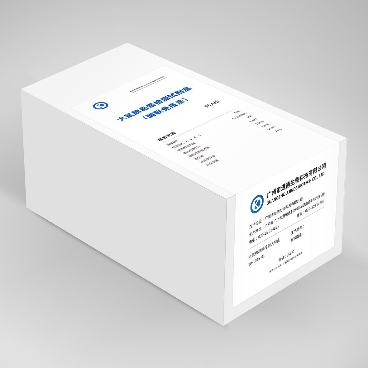 胰高血糖素(glucagon)ELISA检测试剂盒