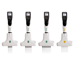 INTEGRA VOYAGER可调枪头间距的多通道电动移液器