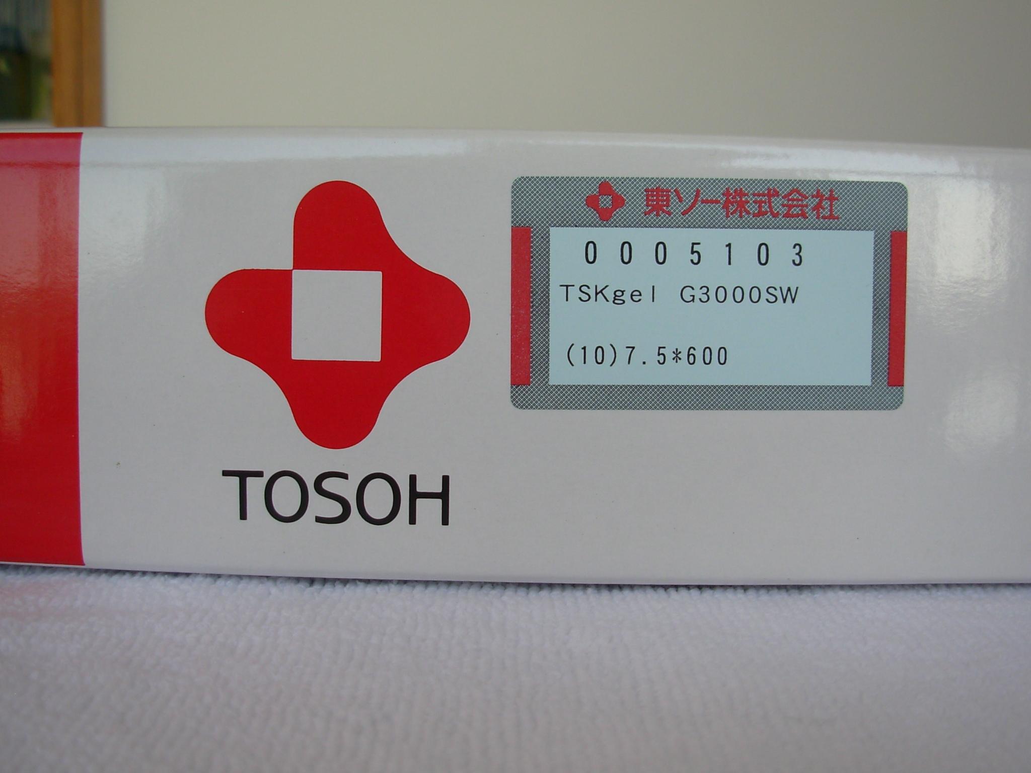 日本TOSOH TSK-GEL凝胶色谱柱