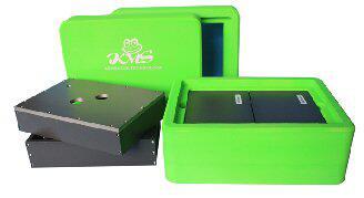 可储存可操作可转运多功能低温无冰冷冻箱