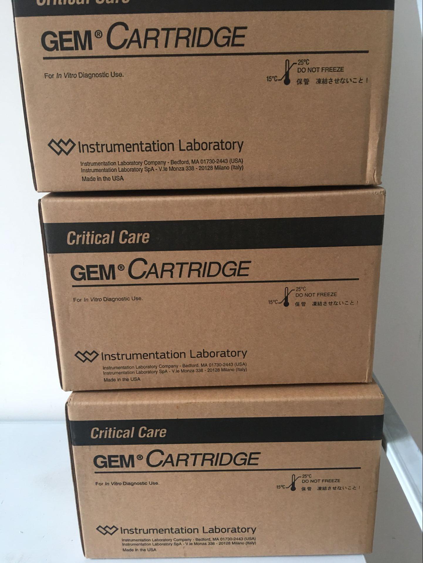 美国GEM3000血气分析仪试剂包