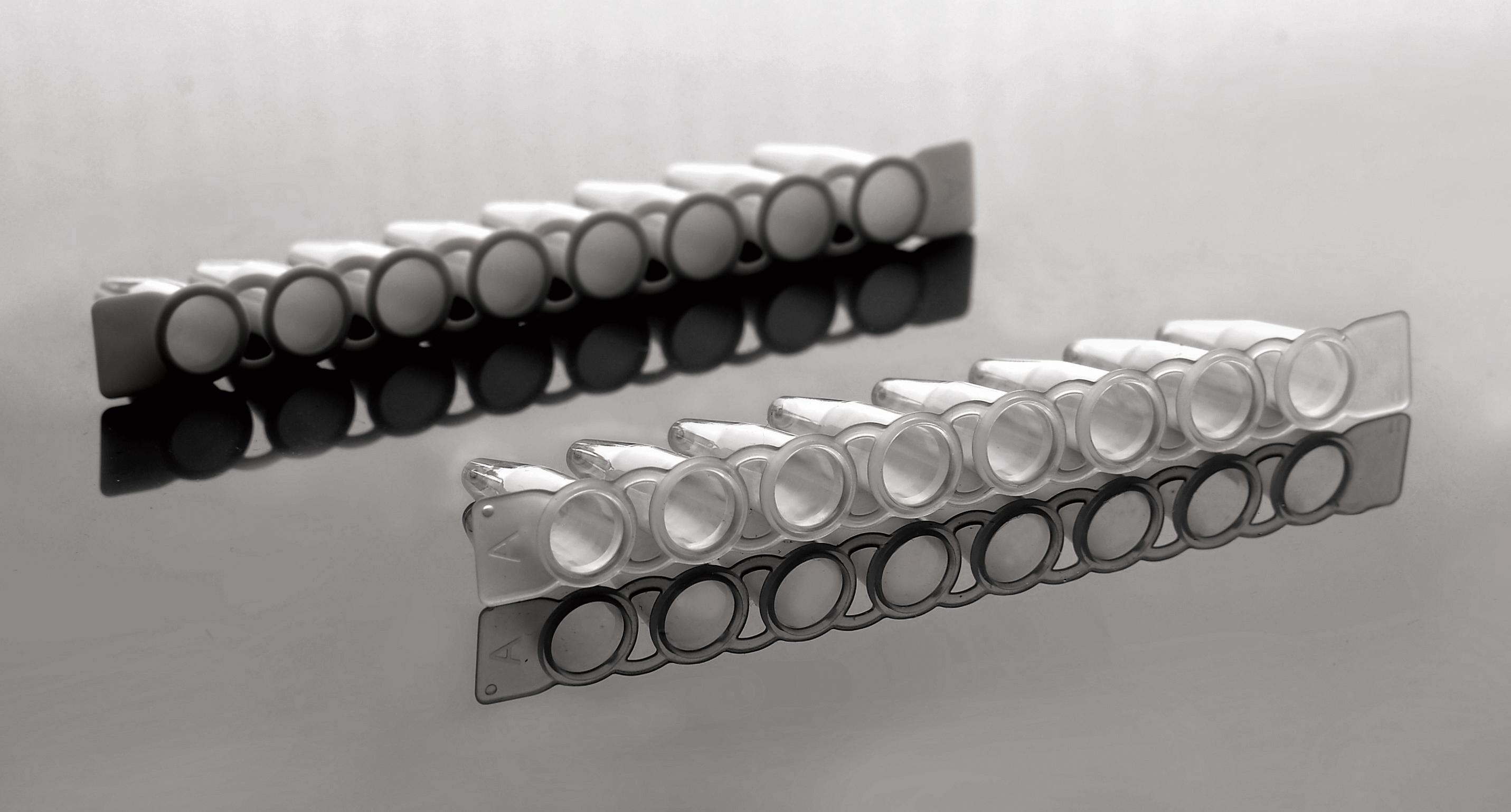 NEST 0.1ml PCR八联管(编号:403102)