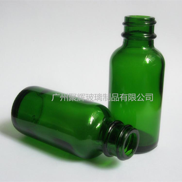 绿色波斯顿精油瓶