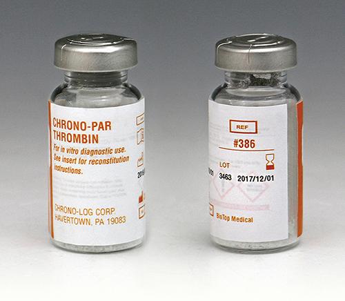 Thrombin | P/N 386 | CHRONO-LOG