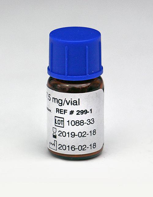 Ristocetin,  7.5mg/Vial | P/N 299-1 | CHRONO-LOG