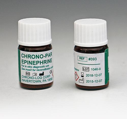 Epinephrine | P/N 393 | CHRONO-LOG