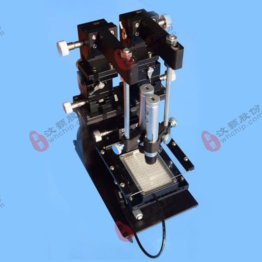 PDMS芯片机械对准,玻璃芯片机械对准,微流控芯片对准平台