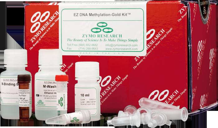 zymo D5005 DNA甲基化修饰试剂盒