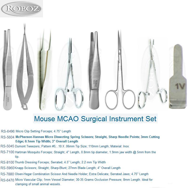 Roboz小鼠MCAO模型专用手术器械