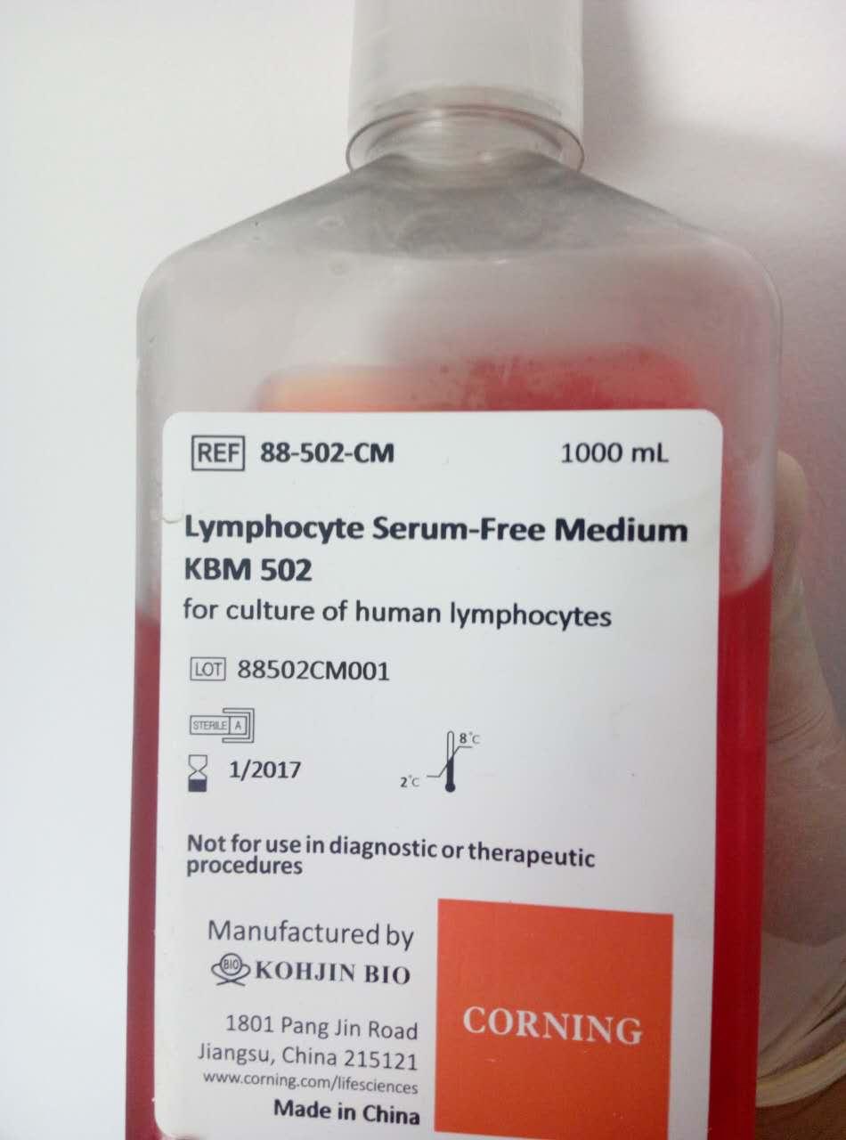 淋巴细胞无血清培养基 KBM502 Lymphocyte Serum-Free Medium KBM502