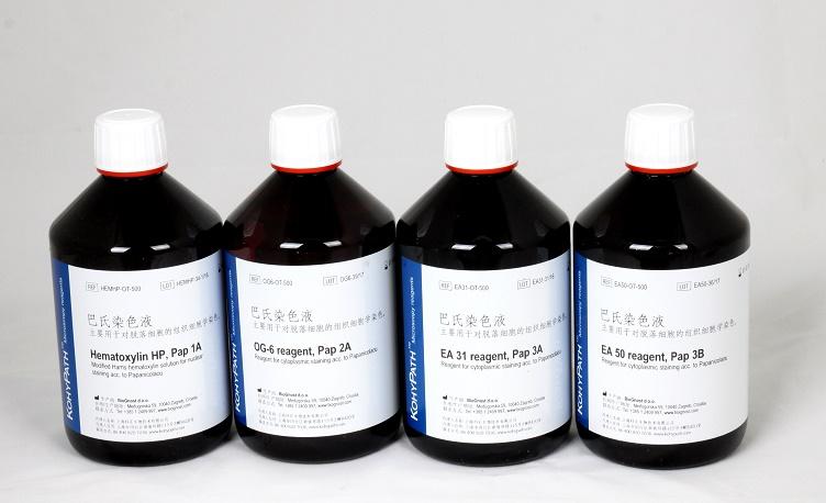 细胞学染色巴氏染色液,3×500ml