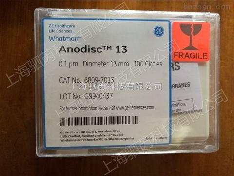 纳米材料过滤膜whatman无机膜氧化铝膜AAO膜直径13mm6809-7013