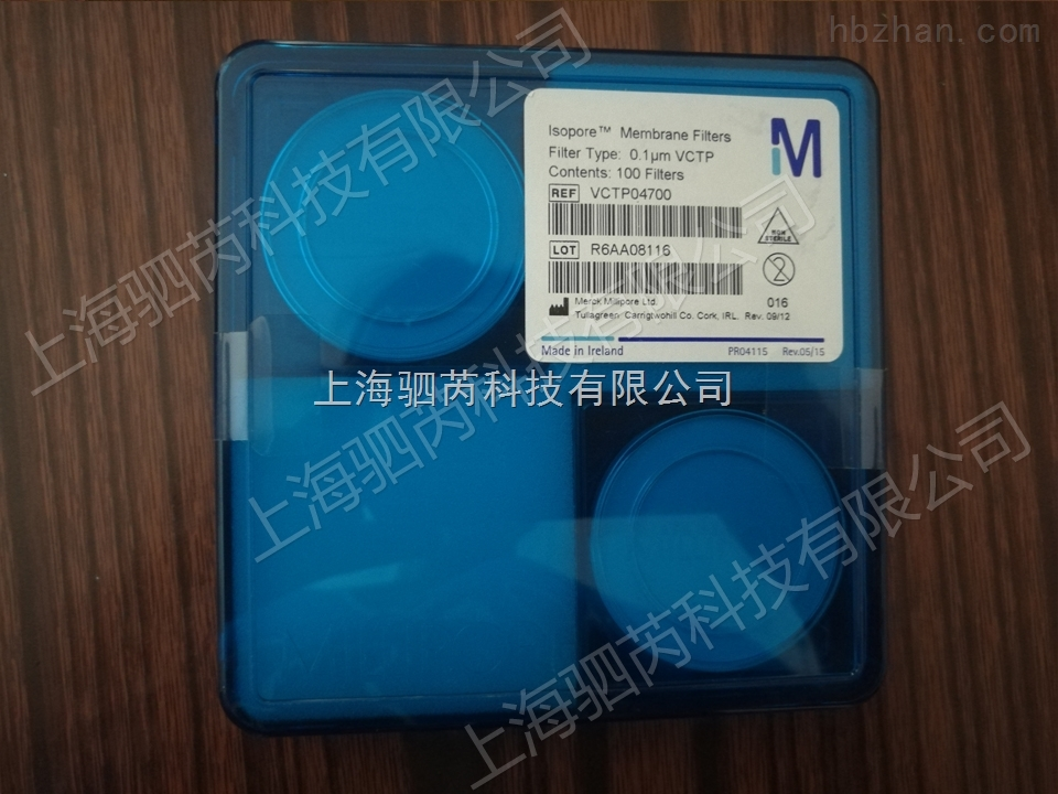 密理博聚碳酸酯膜VCTP04700孔径0.1um100纳米聚碳酸酯膜