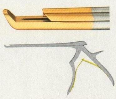 蛇牌手术器械|蛇牌咬骨钳FK916R