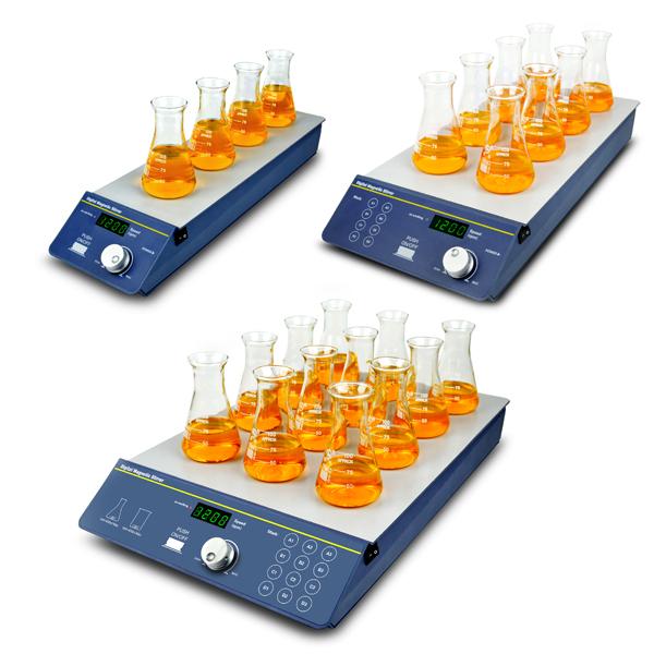 米欧 Miulab SP-100 SP-200 SP-300 多通道磁力搅拌器