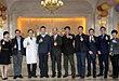 北京市台办主任王力军一行到北京宝岛妇产医院参观指导
