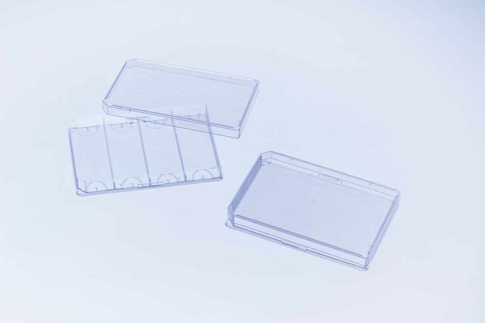FourWell Plate四格细胞培养板,127.8*85.5*14.4mm,无处理,灭菌,有盖