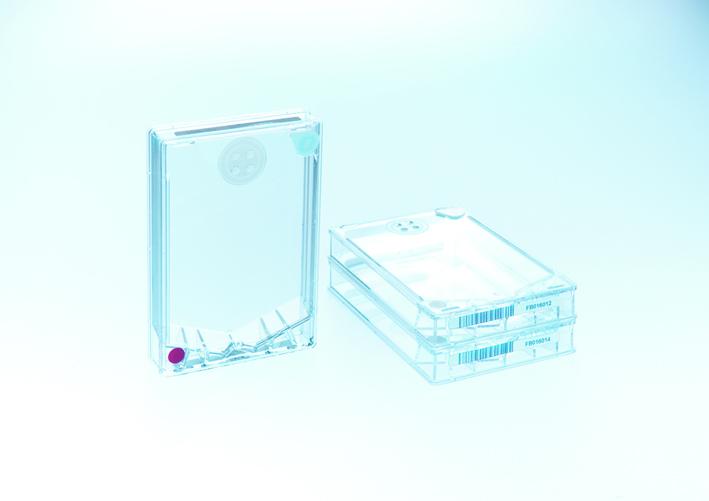AutoFlask自动细胞培养瓶,悬浮式,灭菌,培养面积83.6cm2,颜色编码白色,带条码