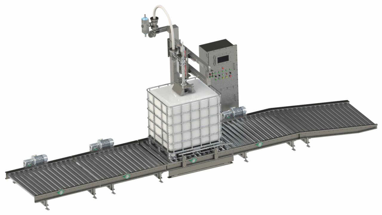 吨桶灌装机 IBC桶灌装机生产厂家