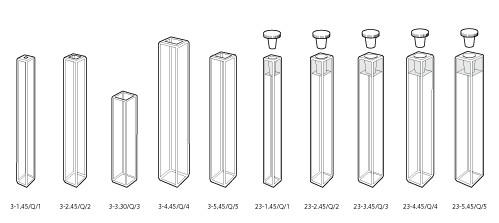 英国Starna原装进口微量方型荧光样品池(比色皿)