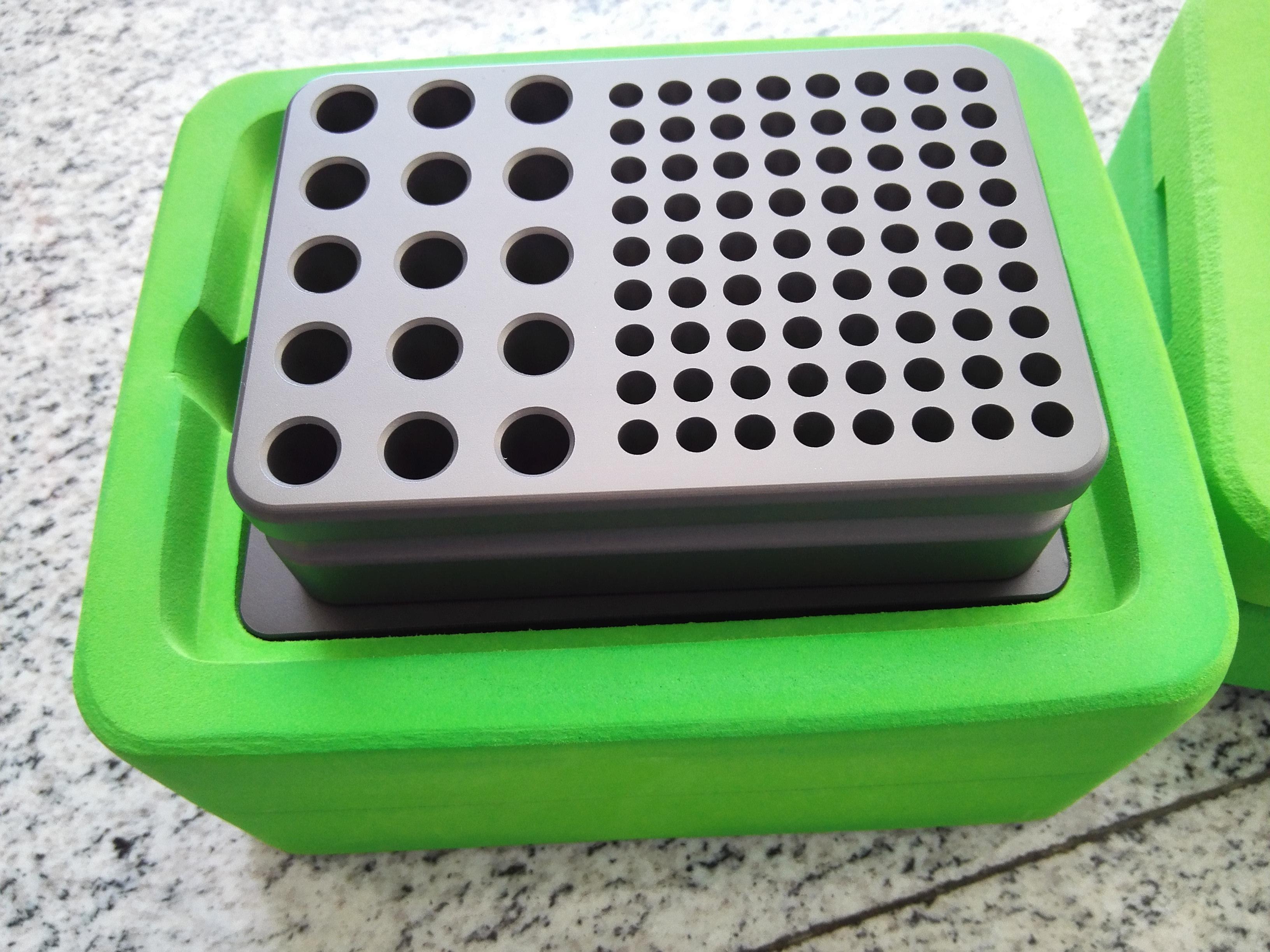 PCR管专用无冰低温实验操作台