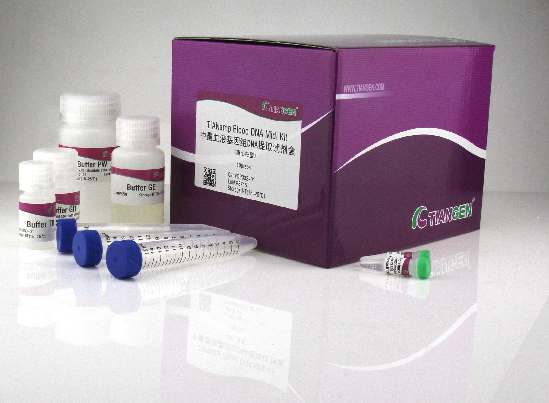 中量血液基因组提取试剂盒(DP332)