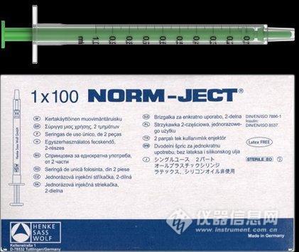 HSW | NORM-JECT 塑料注射器 4010.200V0