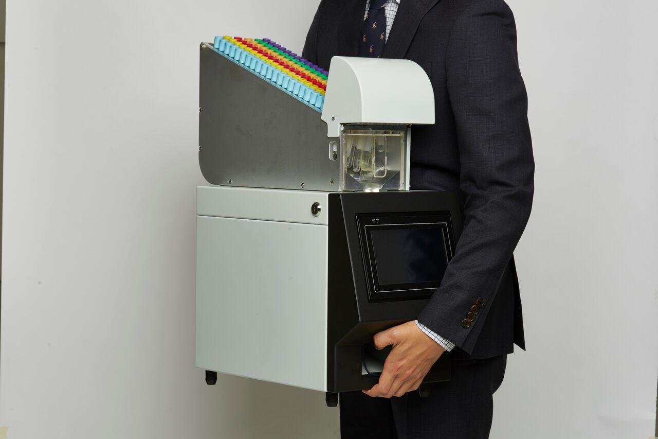 护士站Mini型-全自动采血管贴标仪