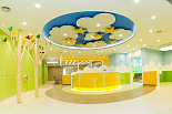 儿童保健康复科候诊区-祈福医院
