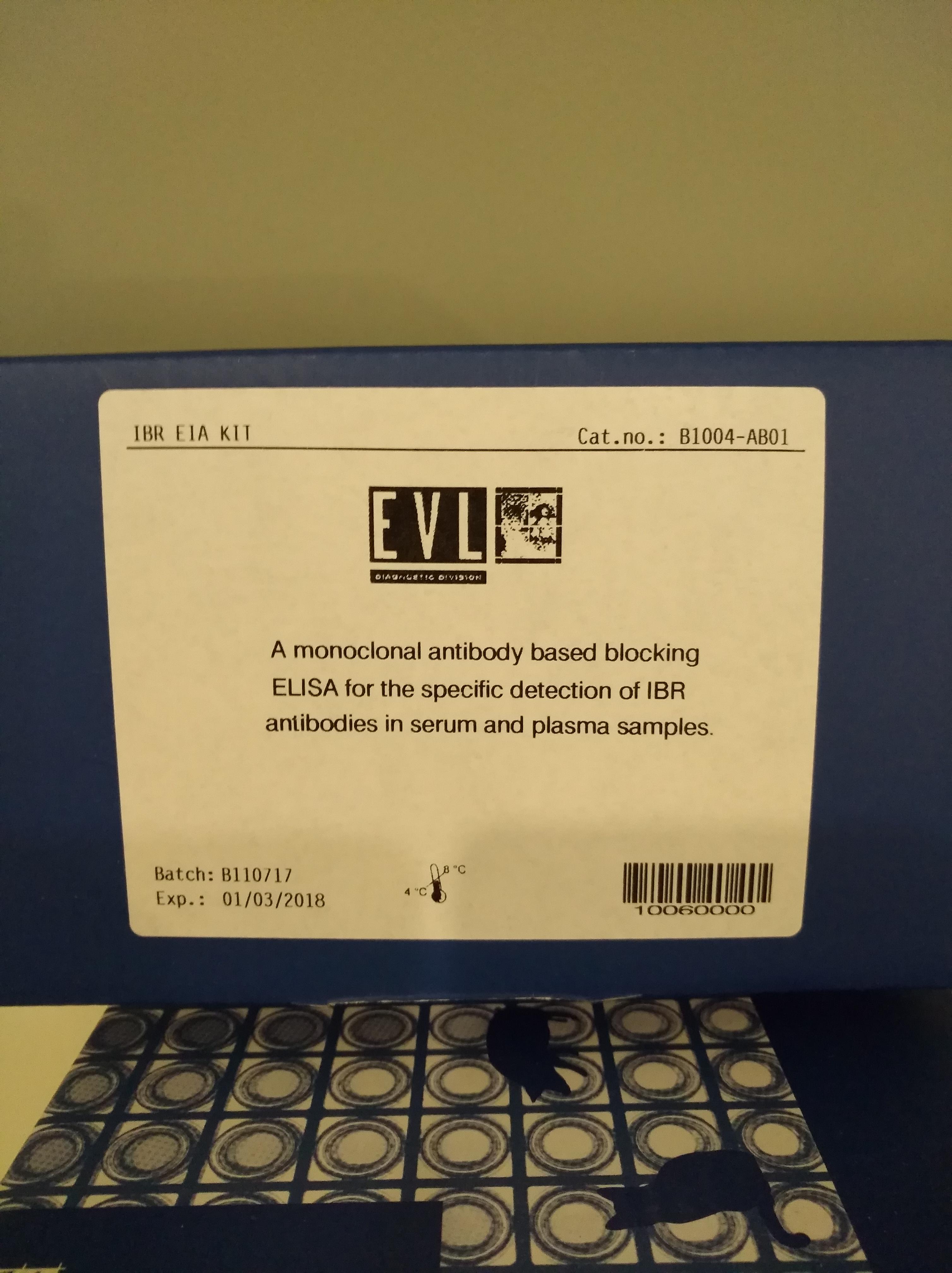荷兰EVL品牌 动物疫病检测试剂