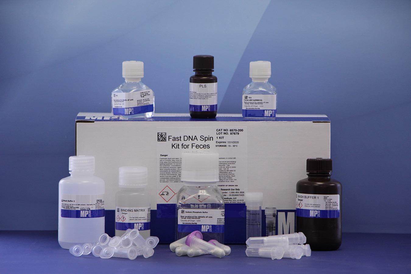 MP 粪便DNA提取试剂盒 FastDNA SPIN Kit for Feces