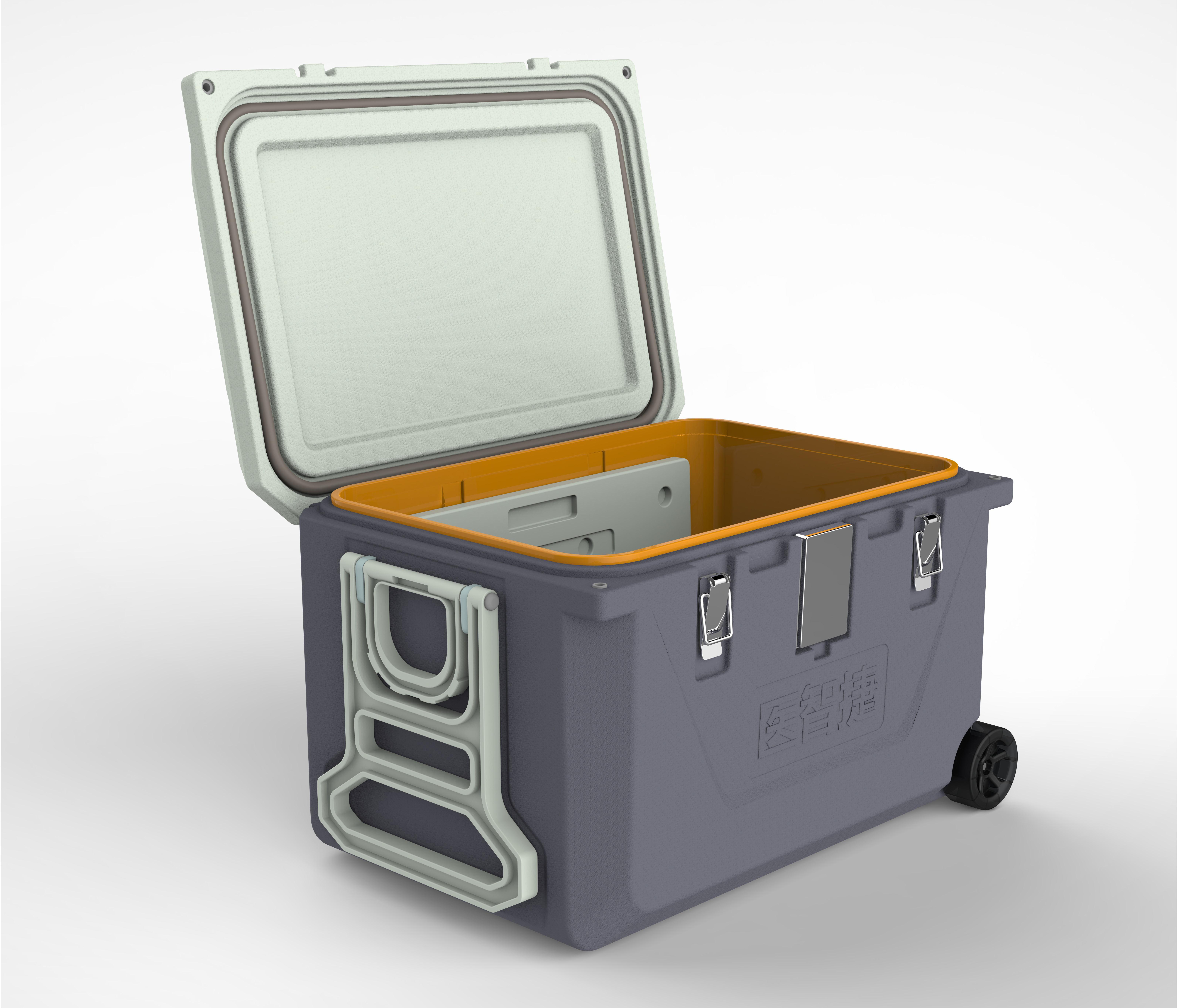 医智捷保温箱冷链箱符合GSP 温度记录 标本 生物安全箱 冷藏箱