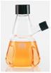 有倾倒口的胰酶消解瓶  通过胰蛋白酶消解连接的蛋白质来形成细胞悬浮液,凹槽设计促进了均匀化程度,带旋盖可高压灭菌