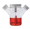 Celstir双侧臂细胞培养瓶  带有磁性搅拌器用于悬浮细胞培养,可调整的桨叶以及无菌设计,搅拌杆未伸出瓶盖,1:1的顶端比例创造了良好的气体交换条件