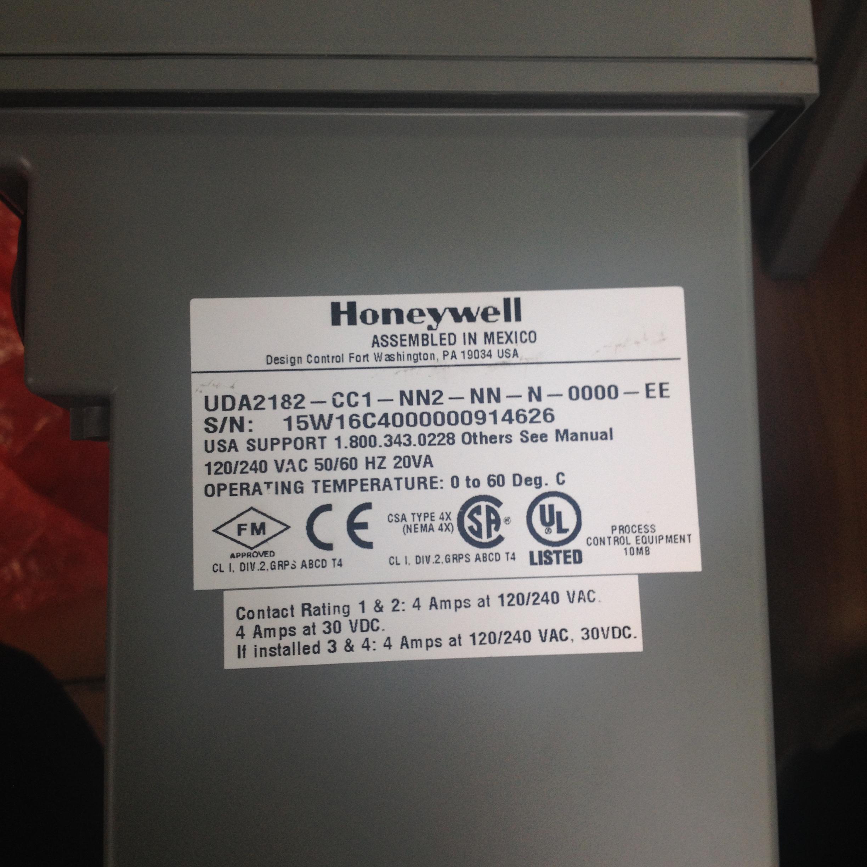 现货充足honeywell导电度计UDA2182-CC1-NN2-NN-N-0000-EE
