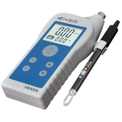 上海雷磁 DDB-303A型便携式电导率仪DJS-1C型铂黑电导电极 总代理