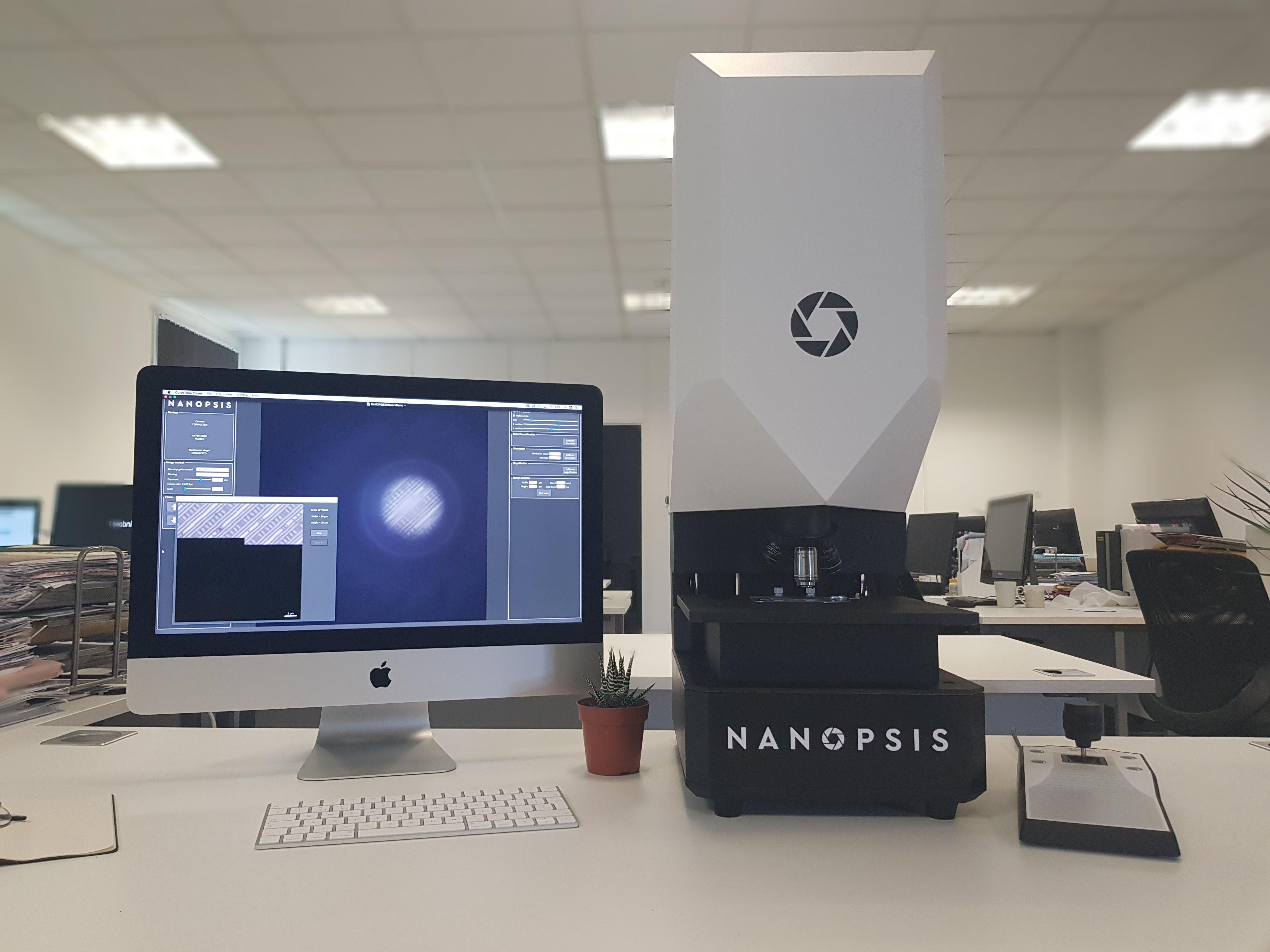 超高分辨纳米微球显微镜