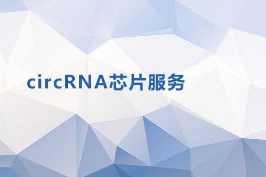 CIRCRNA芯片服务