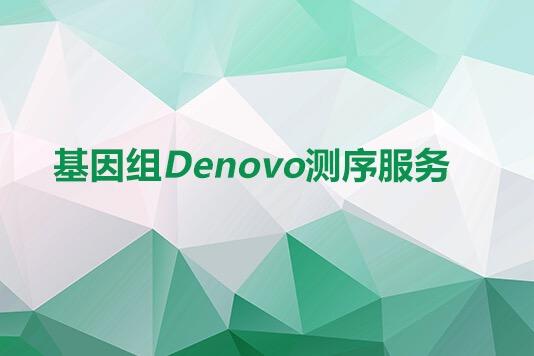 基因组DENOVO测序