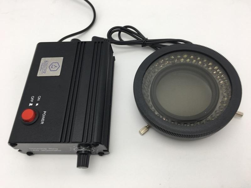 新版通配型体式显微镜LED环形照明器