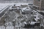 新院区雪景