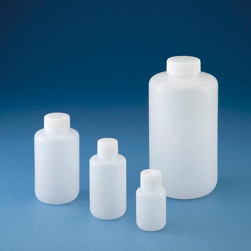 PE瓶 (圆形窄口・白色)