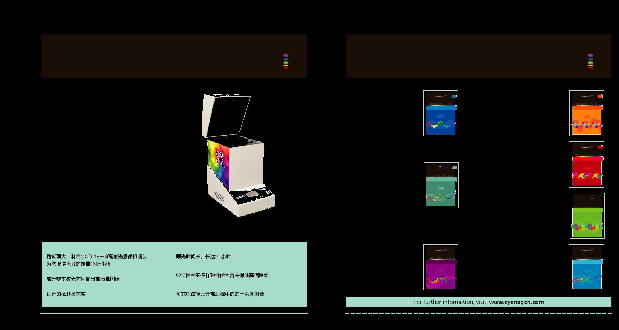 进口原装western印记和Elisa化学发光多功能成像系统