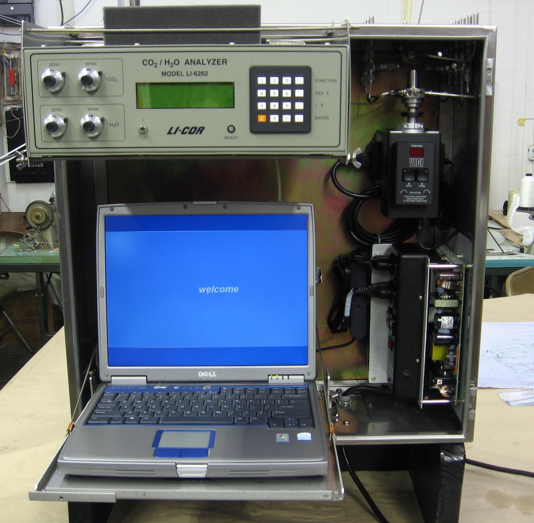 8050型走航式二氧化碳检测系统