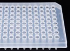 0.1ml白色PCR半裙边96孔板