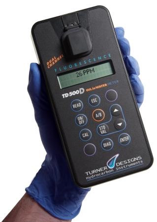 美国特纳TD-500D便携式油份检测仪