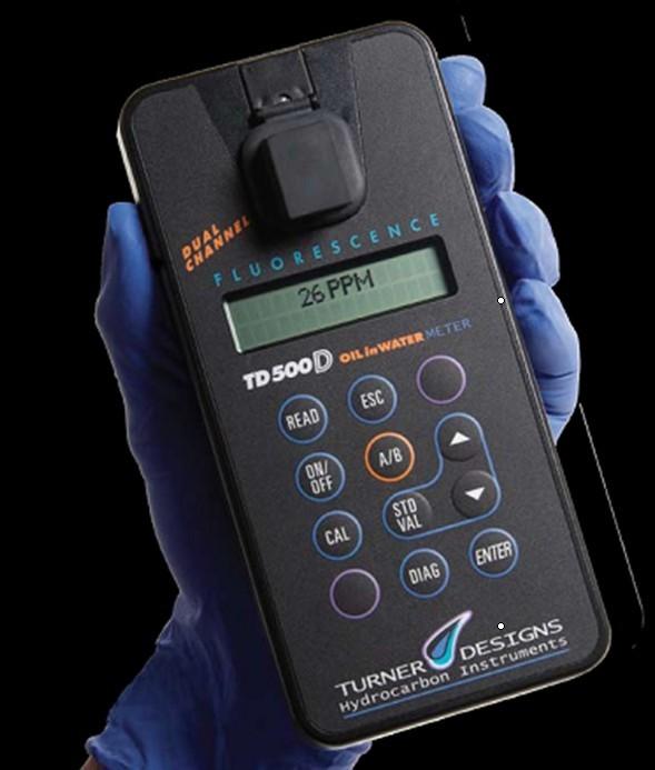 紫外荧光水中油分析仪TD-500D